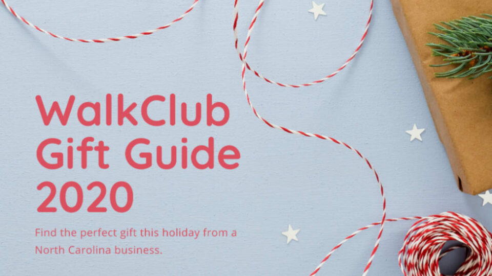 WalkClub Gift Guide 2020: 5 Holiday Gift Ideas for North Carolinians